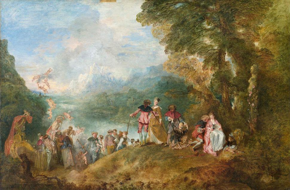 Паломничество на остров Киферу - Лувр.jpg