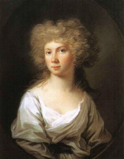 Неизвестный художник - Портрет Вильгельмины Прусской (1774-1837).jpg