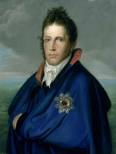 Неизвестный художник - Портрет короля Голландии Виллема I (1772-1843).jpg