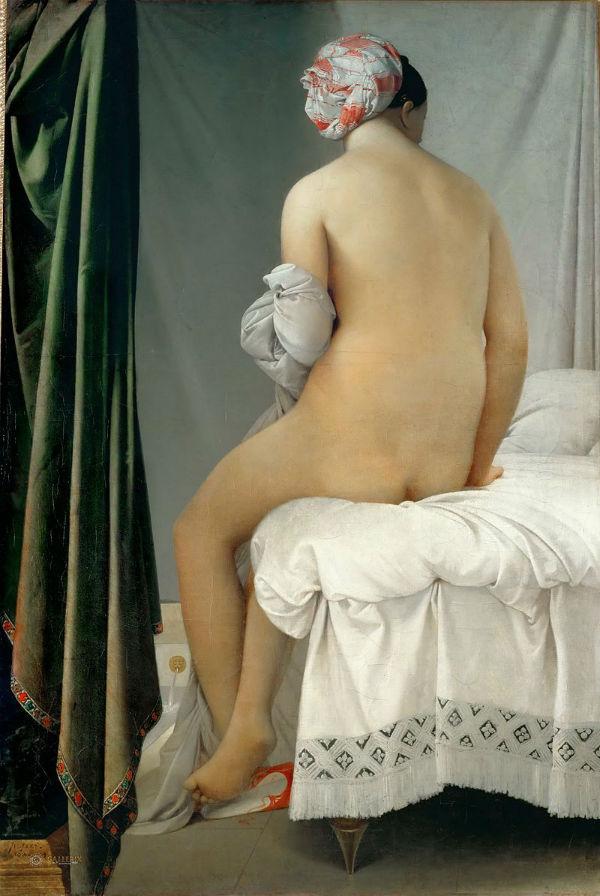 Жан Огюст Доминик Энгр - Купальщица Вальпинсона - 1808.jpg