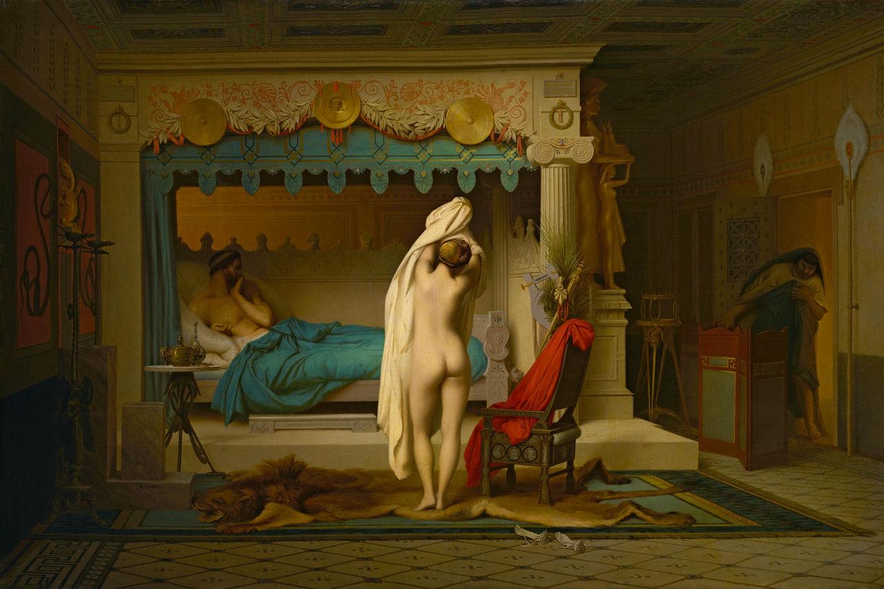 Жан-Леон Жером - Царь Кандавл - 1859.jpg