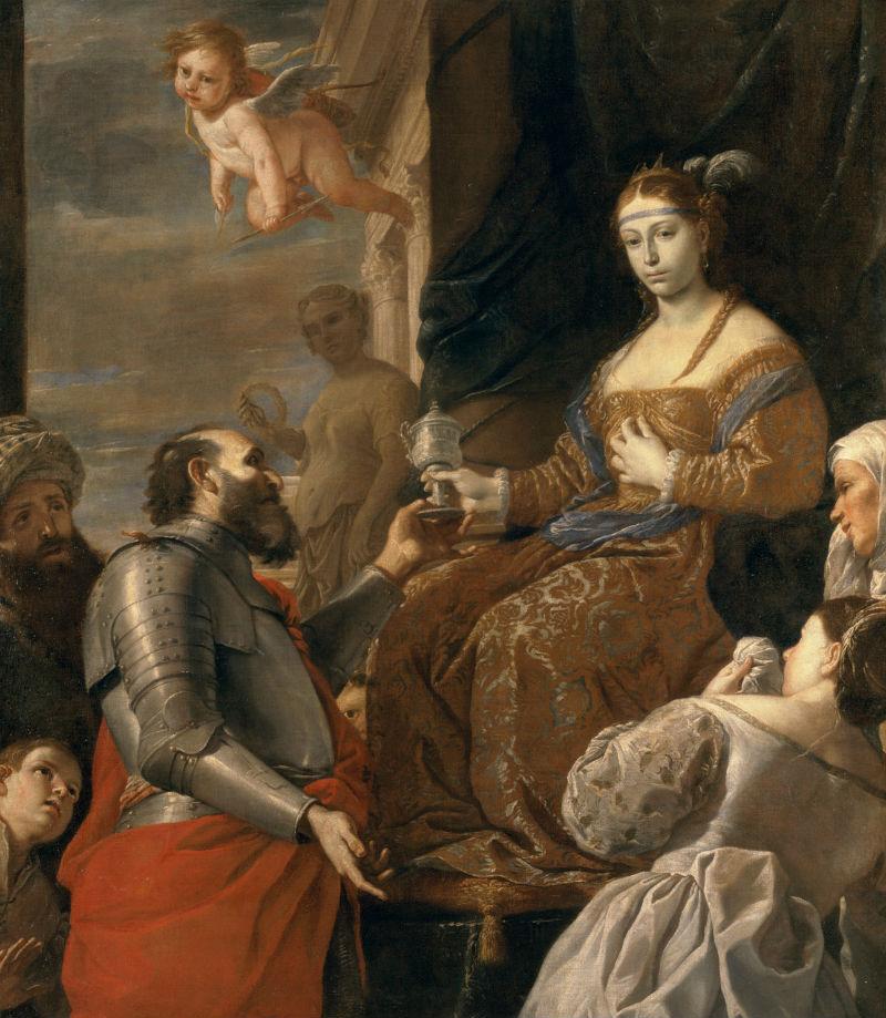 Маттиа Прети  - Смерть Софонисбы - около 1670.jpg