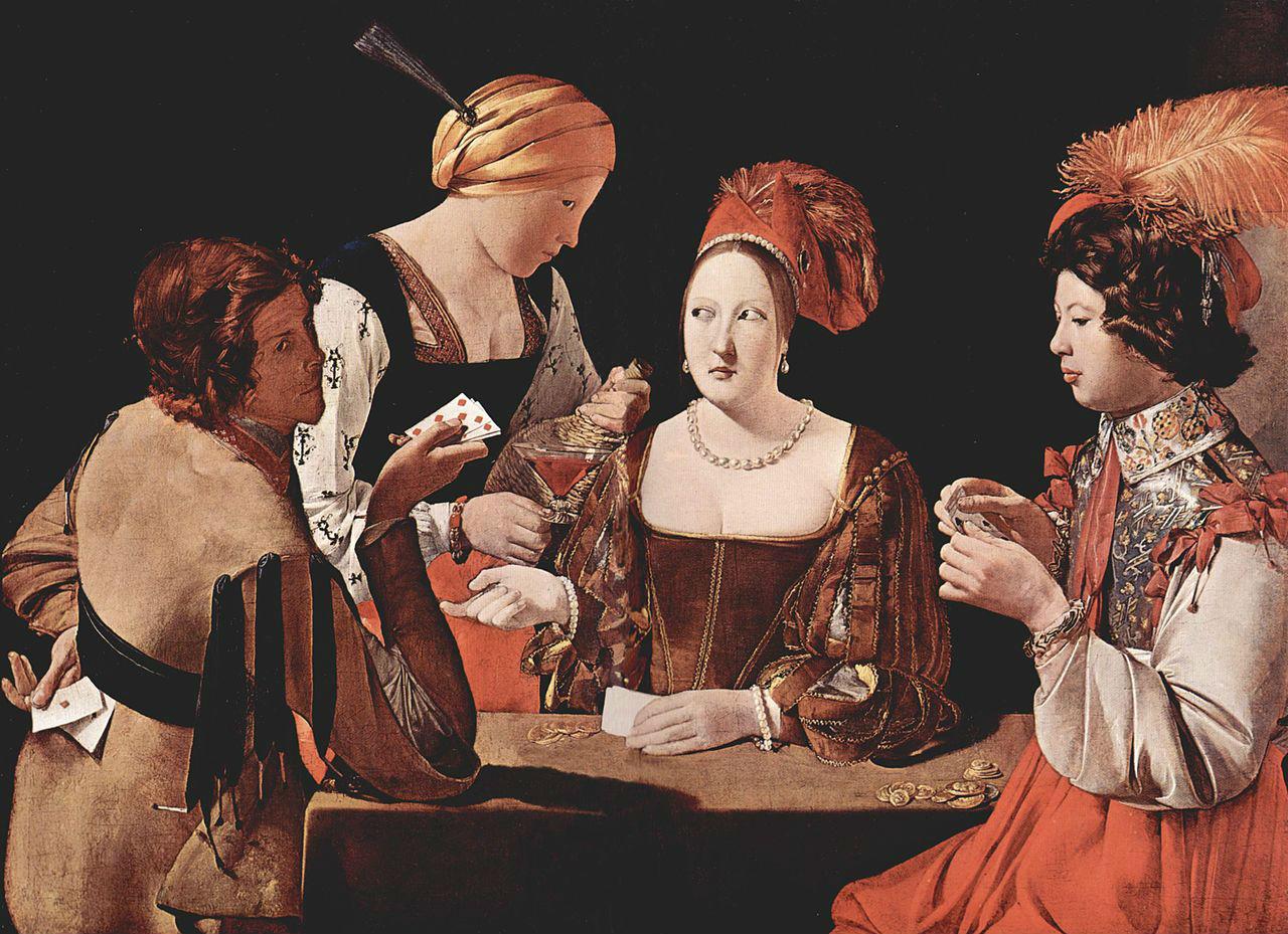 4-Жорж де Латур - Шулер с бубновым тузом - 1633-1639.jpg