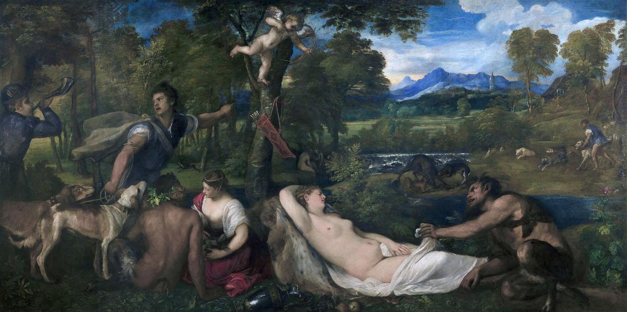 Тициан картины с названиями фото