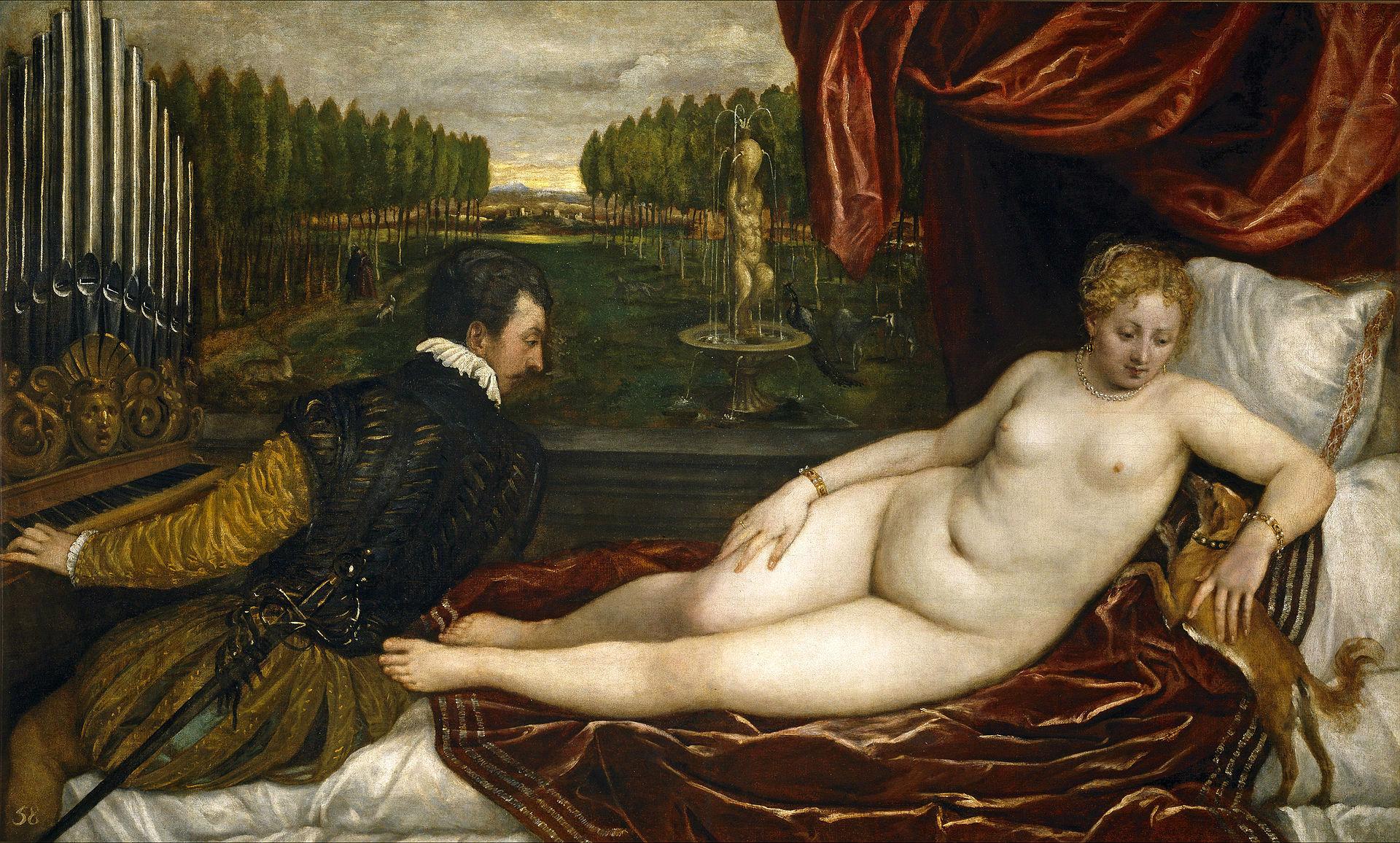 Венера с органистом и собакой.jpg
