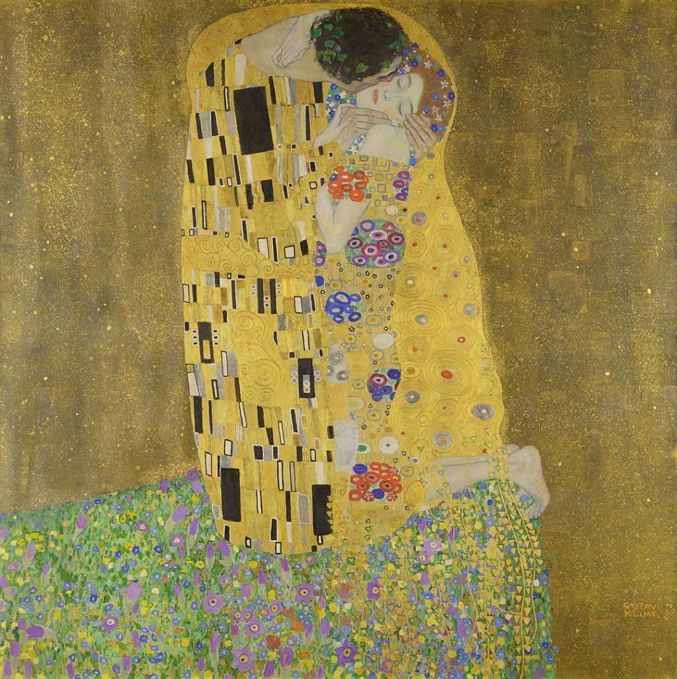 Густав Климт - Поцелуй - 1907-1908.jpg