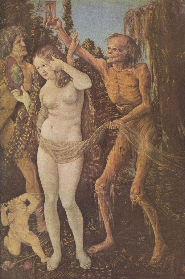 Ганс Бальдунг - Три возраста женщины и смерть.jpg