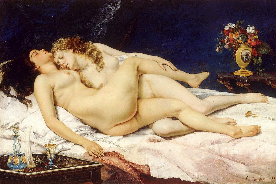 Гюстав Курбе - Спящие - 1866.jpg