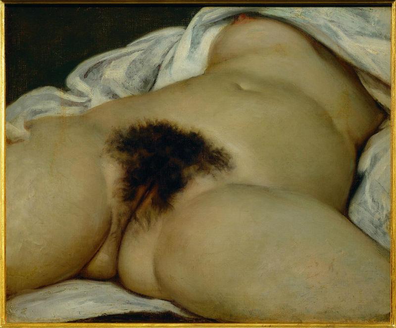 Гюстав Курбе - Происхождение мира - 1866 - Музей Орсе - Париж.jpg