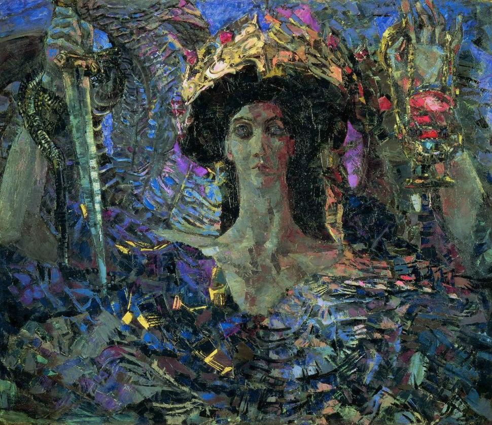Михаил Врубель - Шестикрылый серафим (Азраил) - 1904.jpg