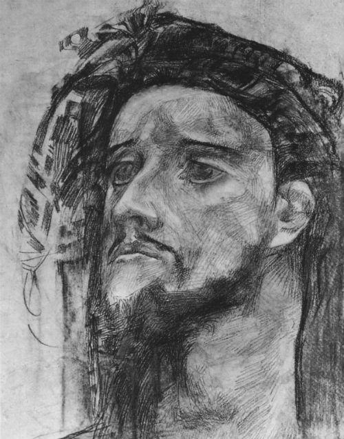 Михаил Врубель - Голова пророка - 1904-1905.jpg