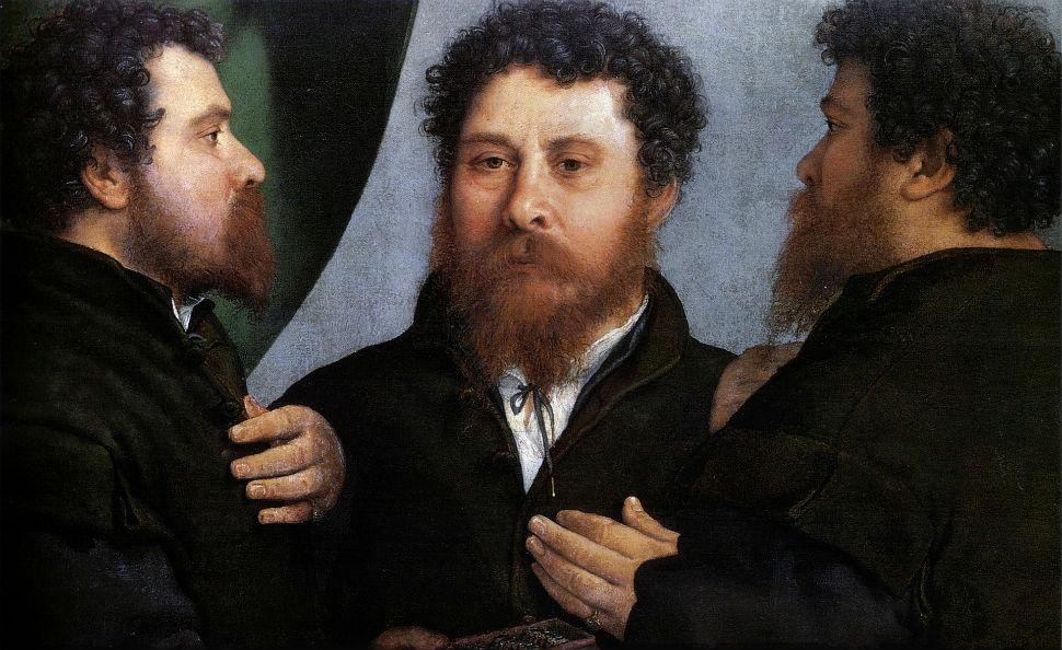 Лоренцо Лотто - Тройной портрет ювелира - 1530 - Музей истории искусств Вена.jpg