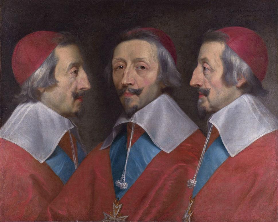 Филипп де Шампань - Портрет кардинала Ришельё - Лондонская Национальная галерея.jpg