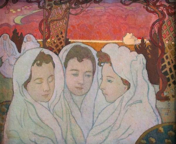 Морис Дени - Тройной портрет Марты - 1892.jpg