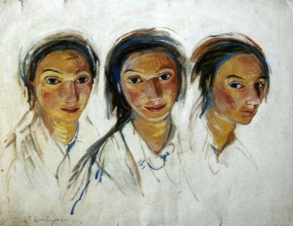 Зинаида Серебрякова - Тройной автопортрет.jpg