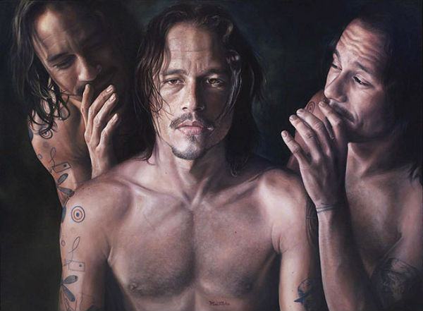 Винсент Фантауццо - Портрет австралийского актера Хита Леджера (Heath ledger portrait by Vincent Fantauzzo).jpg