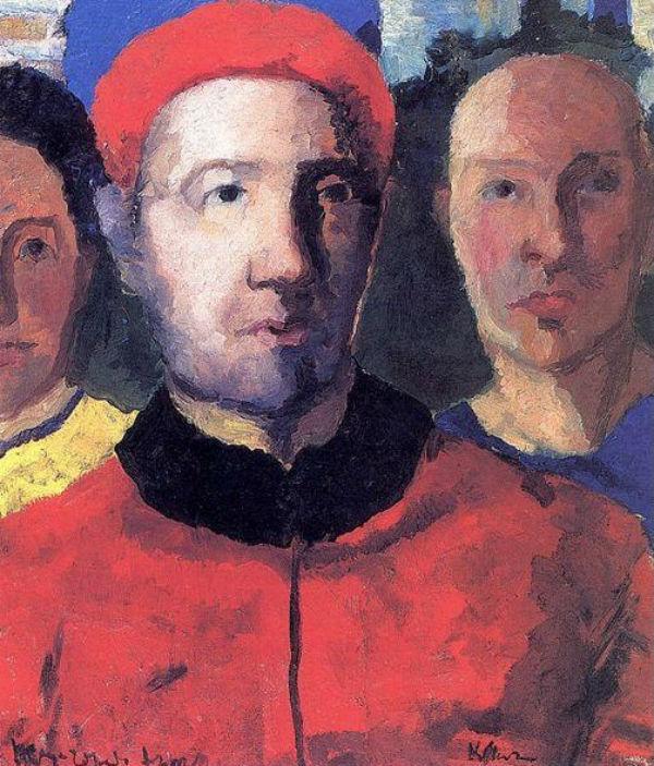 Казимир Малевич - Тройной портрет - 1933.jpg