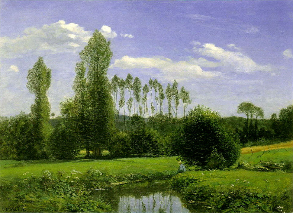 2-Живопись-_-Claude-Monet-_-Вид-на-Рюэлль-Ле-Гавр 1858.jpg