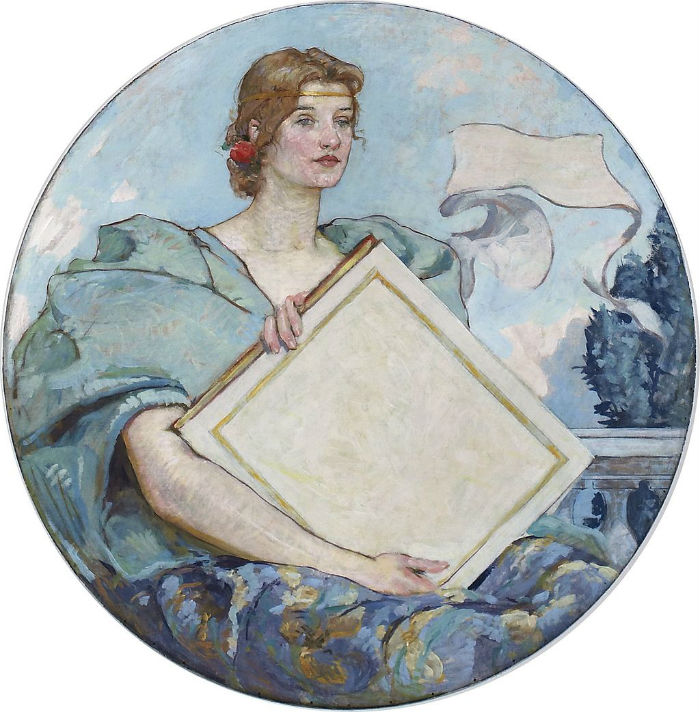Фреска Знание (1896) - Здание Томаса Джефферсона  Вашингтон округ Колумбия.jpg