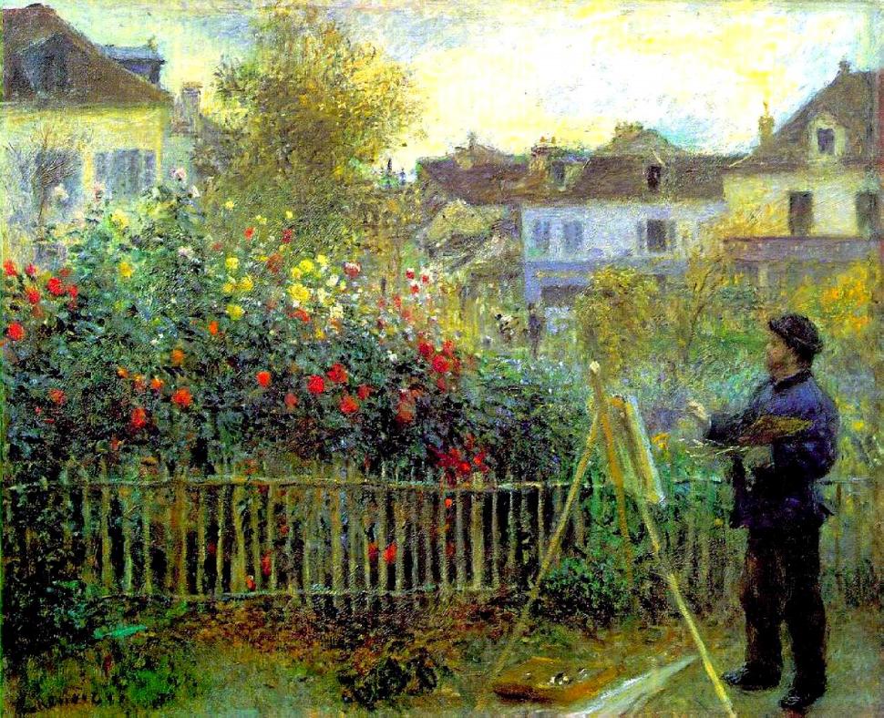 8-Живопись-_-Pierre-Auguste-Renoir-_-Клод-Моне-работающий-в-своем-саду-1873.png