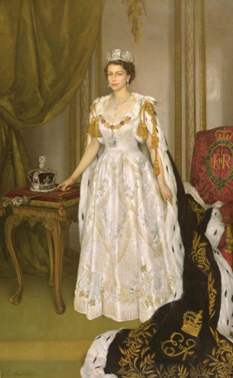 Коронационный портрет королевы Елизаветы II.jpg