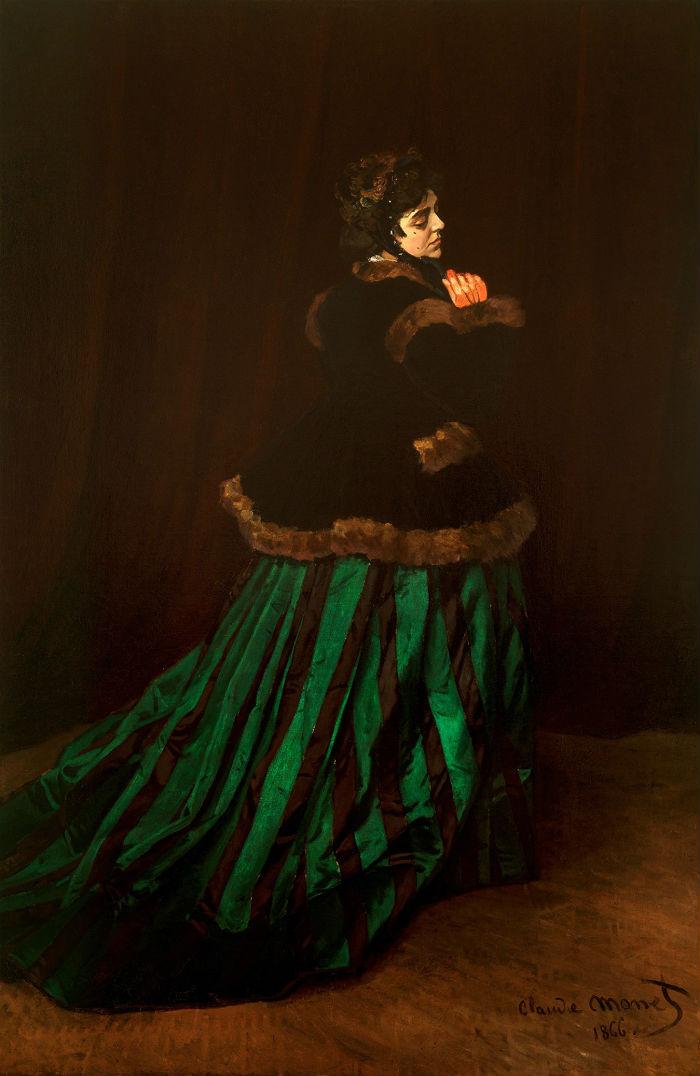 9-Живопись-_-Claude-Monet-_-Дама-в-Зеленом-1866.jpg