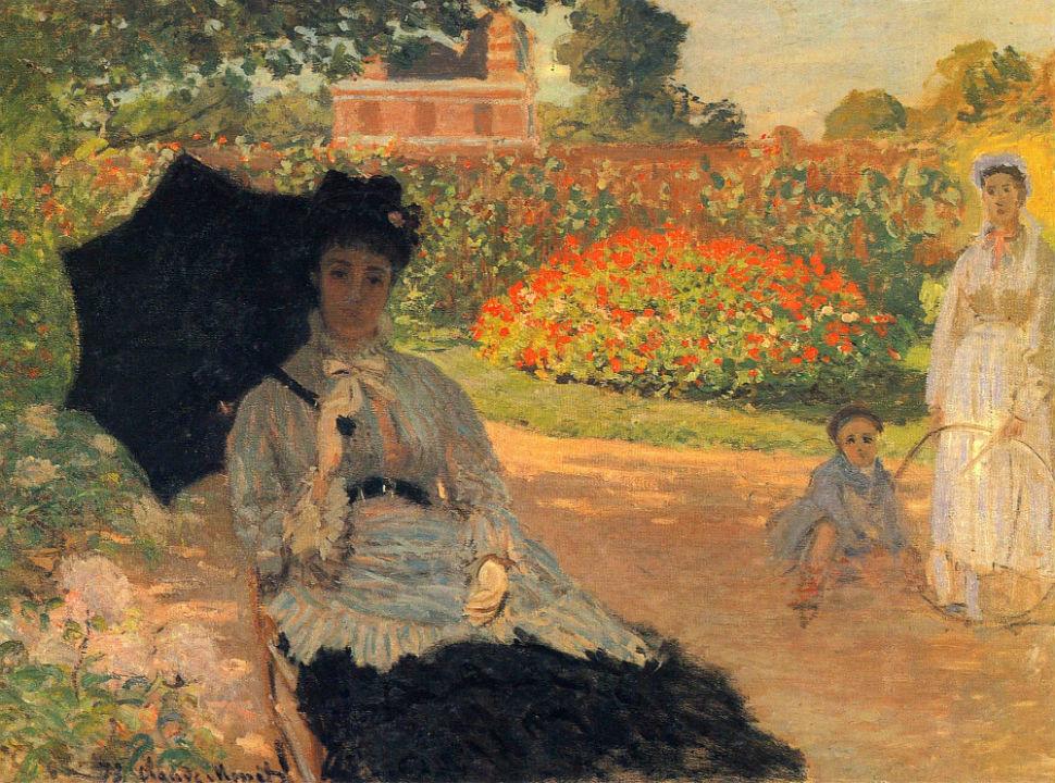 14-Живопись-_-Claude-Monet-_-Камилла-Моне-в-Саду-1873.jpg