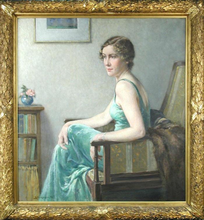 Портрет мисс Кэтлин Белл - 1936.jpg