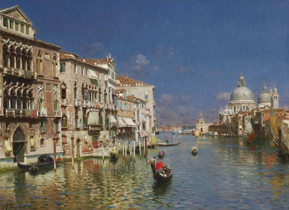 Rubens Santoro - The Grand Canal Venice.jpg