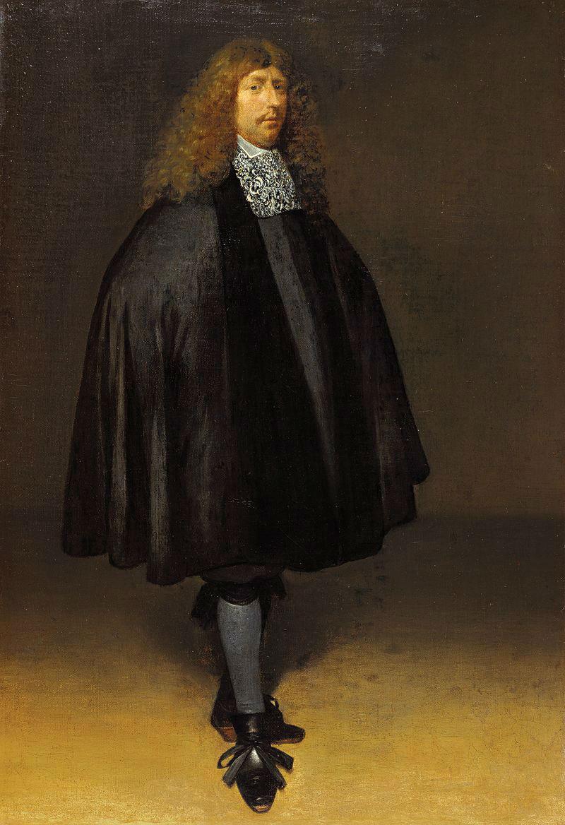 Герард Терборх - Автопортрет - 1668 - Маурицхейс, Гаага.jpg