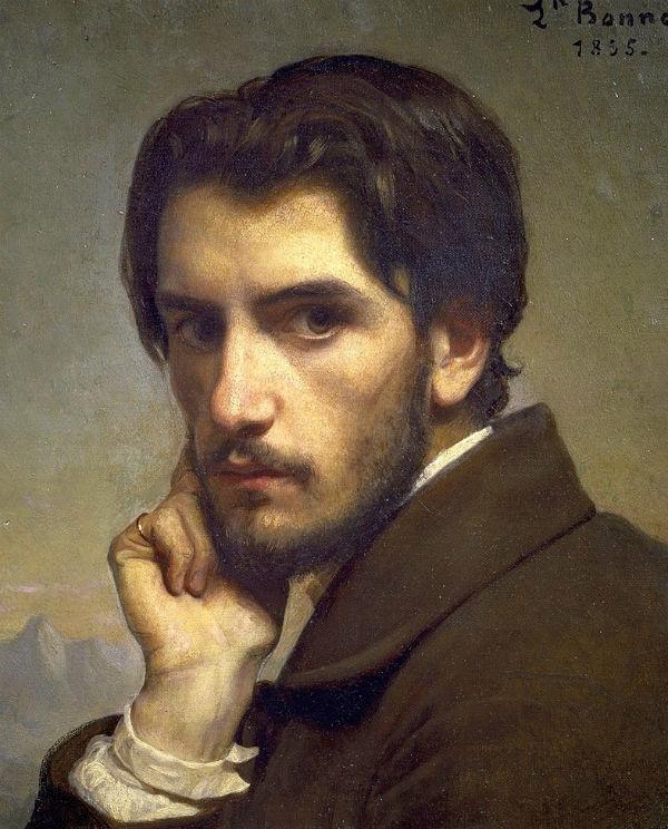 Автопортрет - 1855 - Париж - Музей д'Орсе.jpg