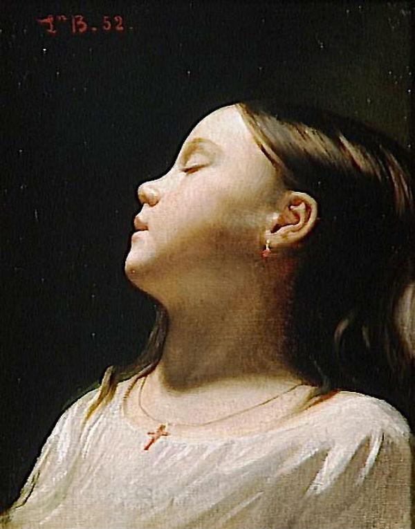 Спящая маленькая девочка - 1852.jpg