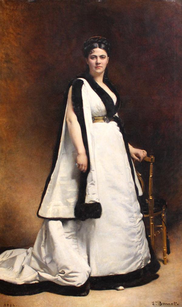 Портрет госпожи Паска - 1874 - Париж - Лувр.jpg