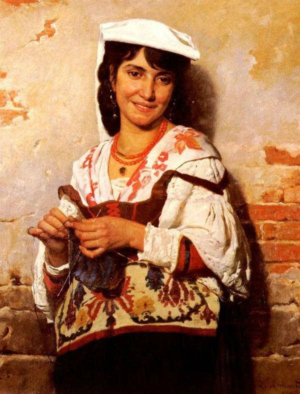 Портрет итальянской девушки.jpg