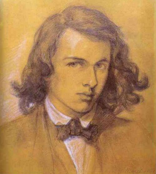 Данте Габриэль Россетти - Автопортрет - 1847.jpg