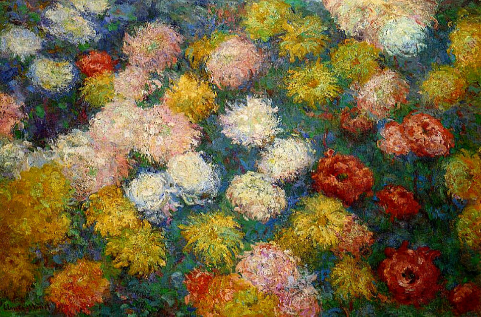 25-Живопись-_-Claude-Monet-_-Хризантемы.jpg