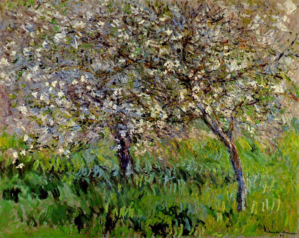 26-Живопись-_-Claude-Monet-_-Яблони-в-цвету-в-Живерни.jpg