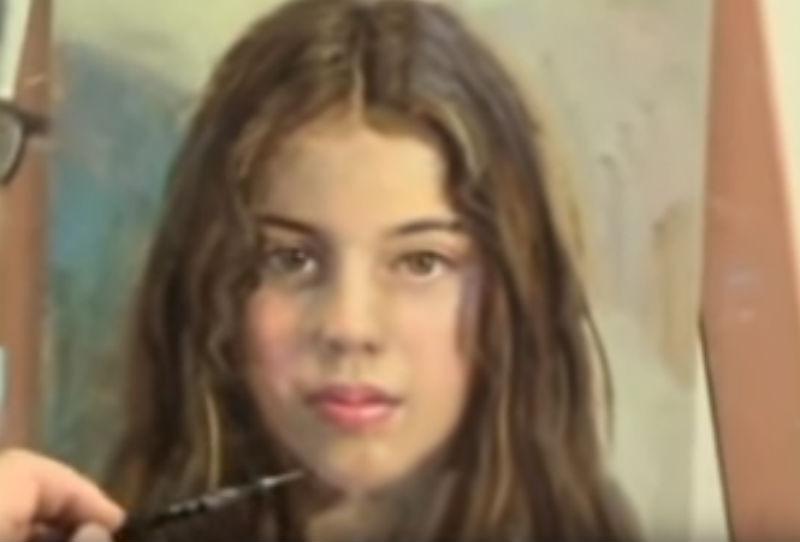 Антонио Гусман Кейпел - Портрет девушки.jpg