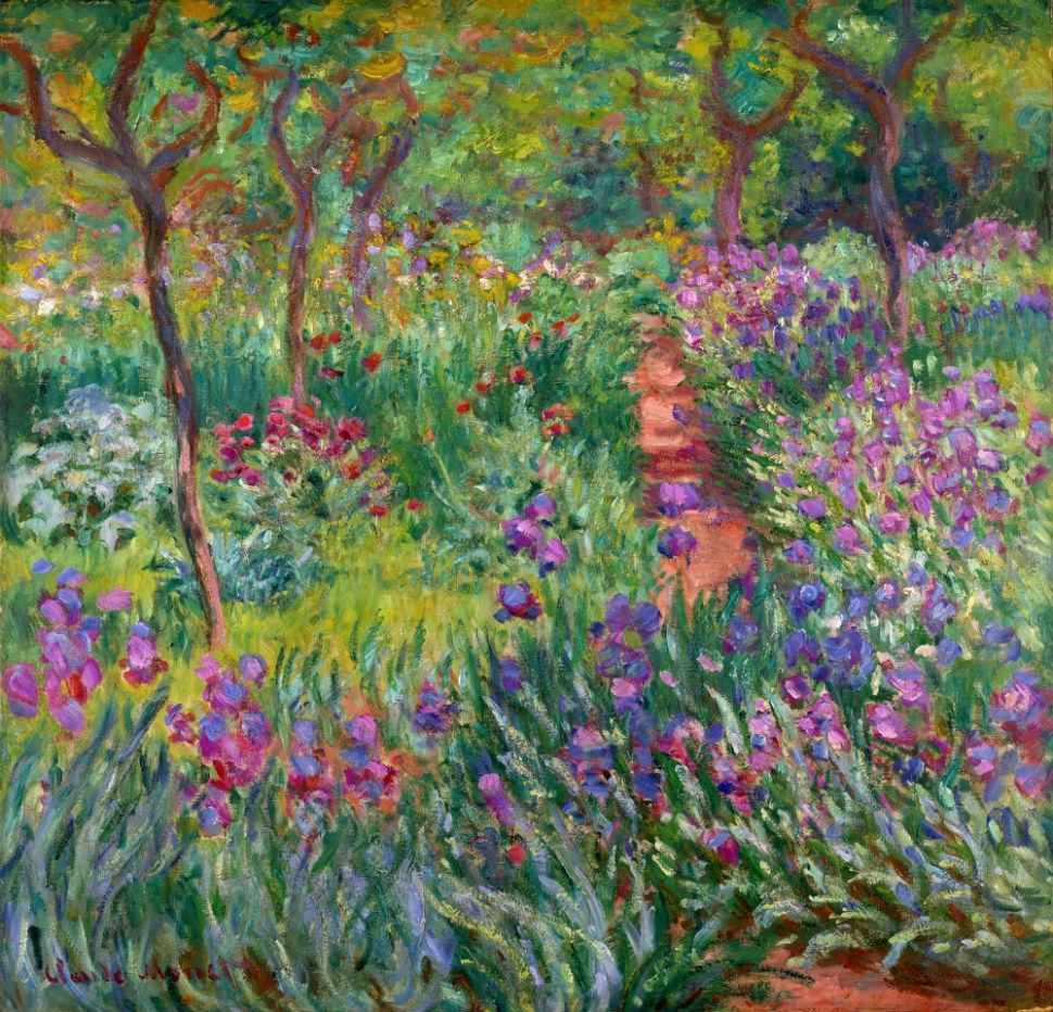 28-Живопись-_-Claude-Monet-_-Сад-с-ирисами-в-Живерни.jpg