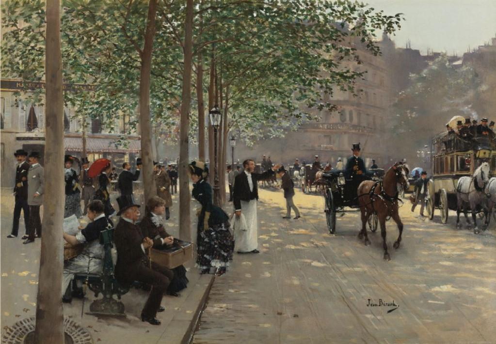 Парижский бульвар - Частное собрание.jpg