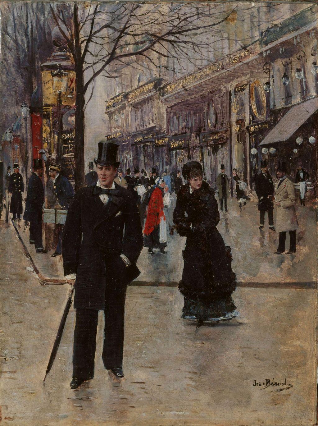 На бульваре - Париж музей Карневале.jpg