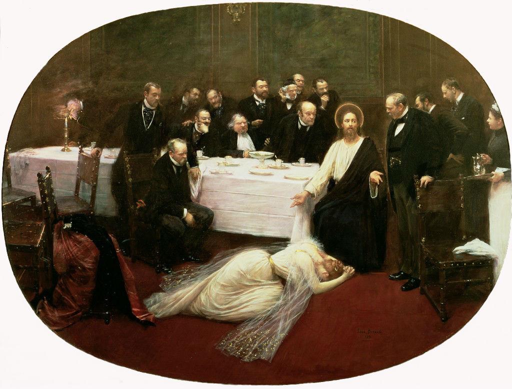 Магдалина в доме Симона фарисея - 1891 - Музей Орсе Париж.jpg