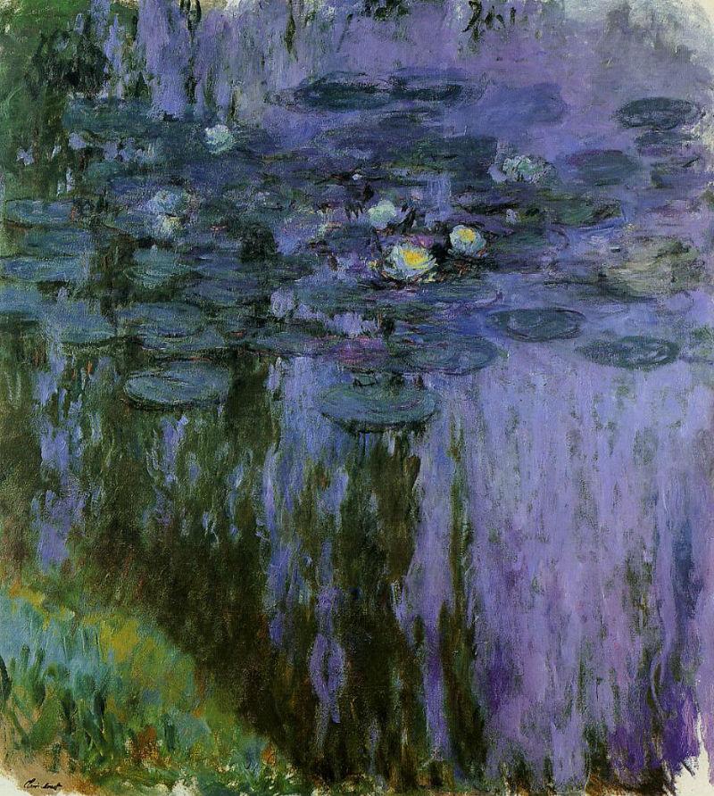 35-Живопись-_-Oscar-Claude-Monet-_-Водяные лилии - 04.jpg