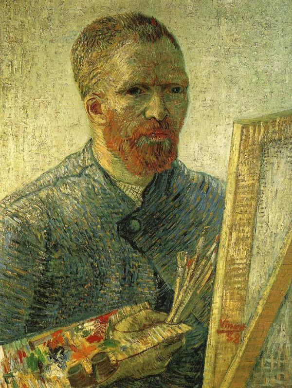 Ван Гог - Автопортрет Как художник - 1888.jpg
