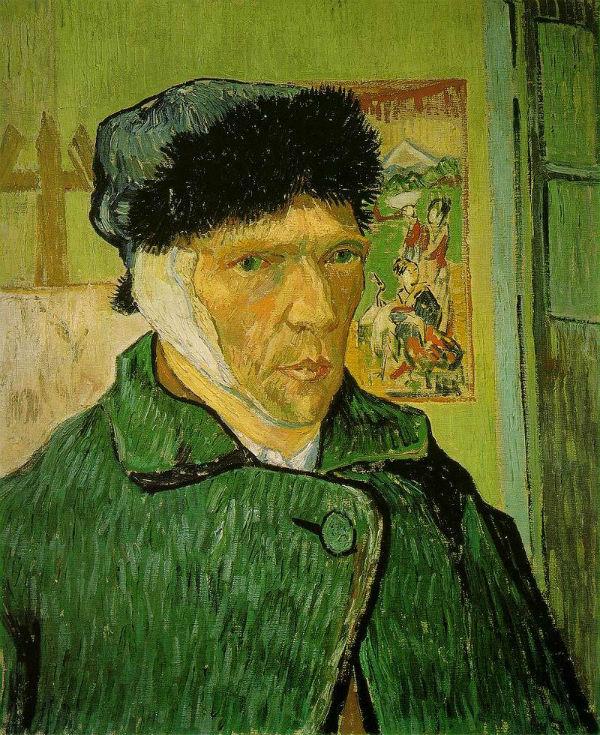 Ван Гог - Автопортрет с перевязанным ухом - 1889.jpg