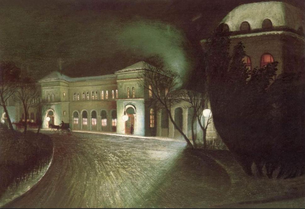 The Eastern Railway Station at Night (1902).jpg