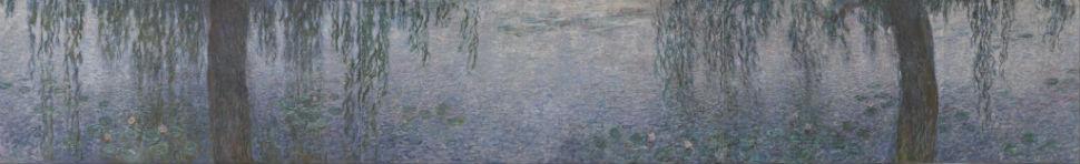 38-Клод Моне  Водяные лилии. Ясное утро с ивами, 1920-26.jpg