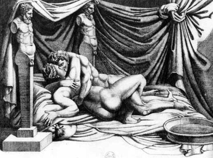 Уцелевшая гравюра Маркантонио Раймонди.jpg