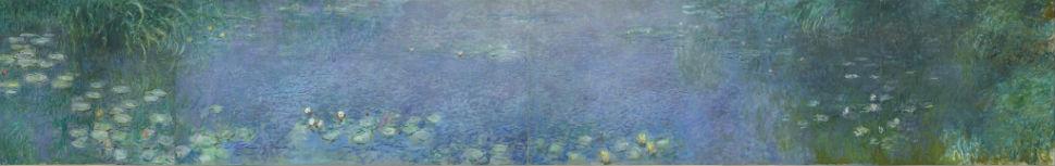 40-Клод Моне  Водяные лилии. Зеленое отражение, 1920-26.jpg