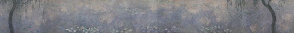 41-Клод Моне  Водяные лилии. Две ивы, 1920-26.jpg